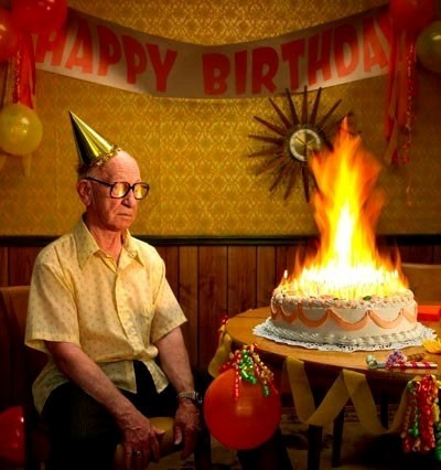 We Dont Need No Candles Let The Birthday Cake BURN